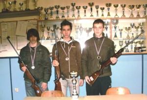 Juniori  2. mjesto LIGA HRVATSKE  SZP 2009/2010, 2010/2011, 2011/2012 i 2012/2013, 3. mjesto. 2013/2014